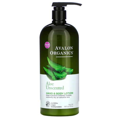 Aloe Unscented Hand & Body Lotion (32. oz.)