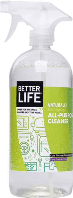 Naturally Filth-Fighting All Purpose Cleaner (Clary Sage & Citrus)