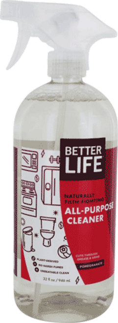 Naturally Filth-Fighting All Purpose Cleaner (Pomegranate)
