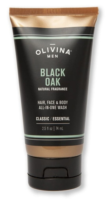 All-In-One Body Wash - Black Oak 2.5 fl oz