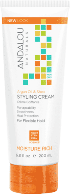 Argan Oil & Shea Moisture Rich Styling Cream