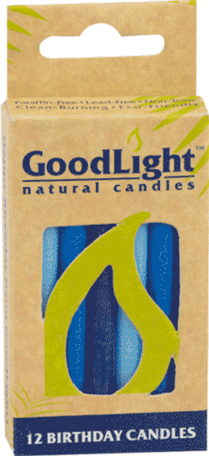 GoodLight Candle Birthday Candles - Blue