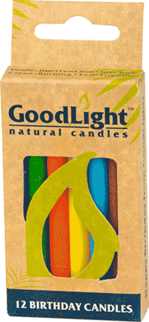 GoodLight Candle Birthday Candles - Multicolored