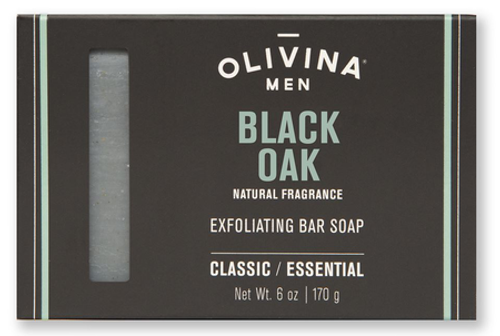 Olivina Men Black Oak Soap Bar