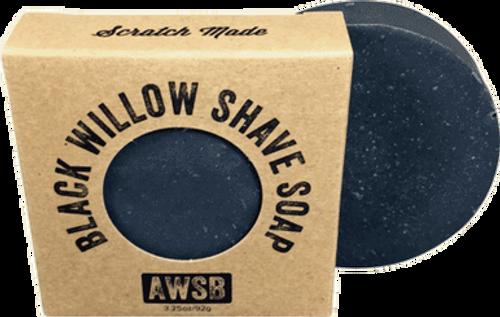 Black Willow Bark Shaving Soap