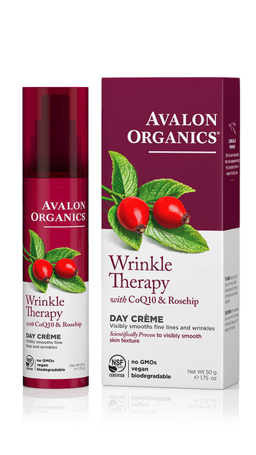 Wrinkle Therapy with CoQ10 & Rosehip Day Creme