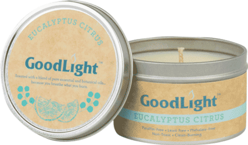 Candle in Tin (Eucalyptus Citrus) - 6 oz.