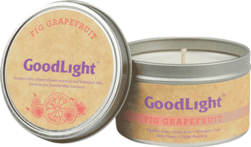 Fig Grapefruit Candle 6oz Tin