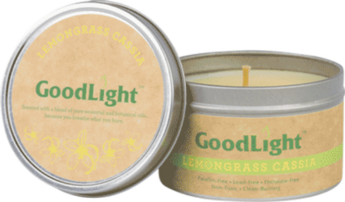 Lemongrass Cassia Candle 6oz Tin