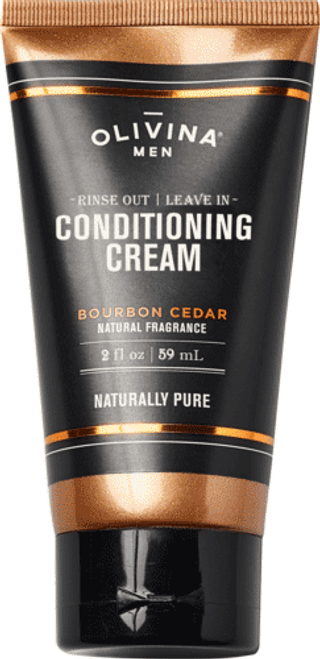 Rinse Out | Leave In Conditioning Cream - Bourbon Cedar 2.5 fl oz