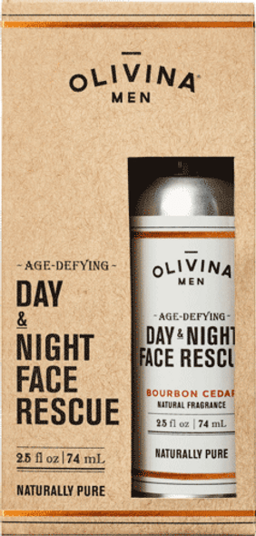 Age-Defying Day & Night Face Rescue - Bourbon Cedar 2.5 fl oz