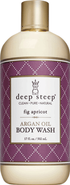 Deep Steep Fig Apricot Body Wash