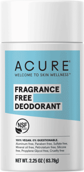Acure - Fragrance Free Deodorant