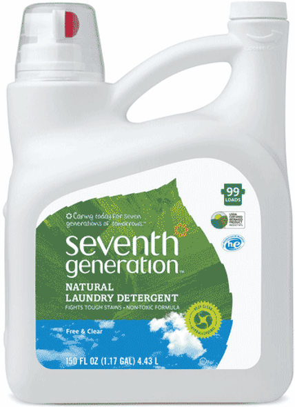 Free & Clear Laundry Detergent - 150 oz.