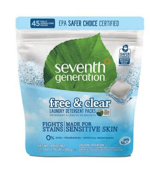 Free & Clear Laundry Detergent Packs