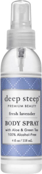 Deep Steep Fresh Lavender Body Spray