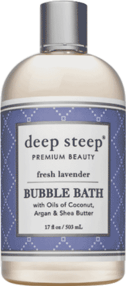 Deep Steep Fresh Lavender Bubble Bath