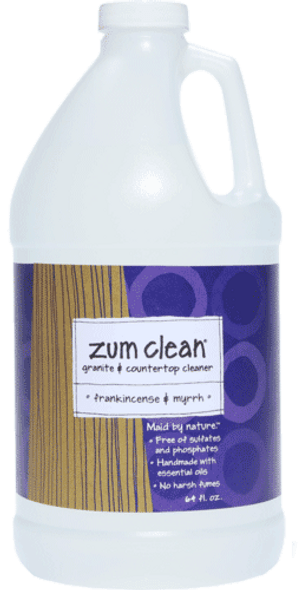 Zum Clean Frankincense & Myrrh Granite and Countertop Cleaner (64 oz. refill)