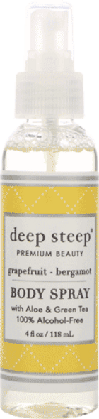 Deep Steep Grapefruit Bergamot Body Spray