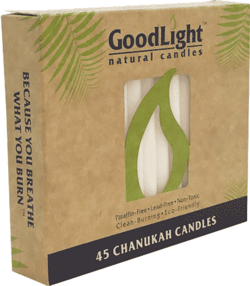 Hanukah Candles - White