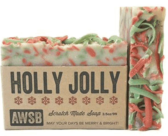 A Wild Soap Bar Holly Jolly Bar Soap