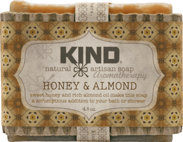Honey & Almond Aromatherapy Bar Soap