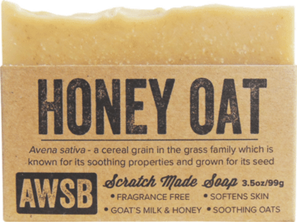 Honey Oat Organic Soap Bar