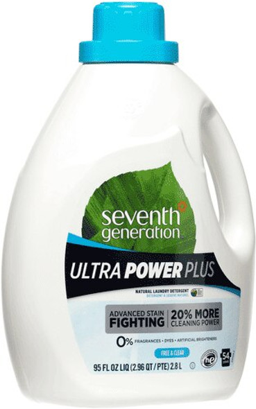 Ultra Power Plus Natural Laundry Detergent