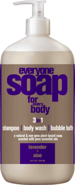 Everyone Lavender And Aloe Multi-Use Liquid Soap