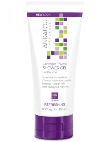 Andalou Naturals Lavender And Thyme Shower Gel