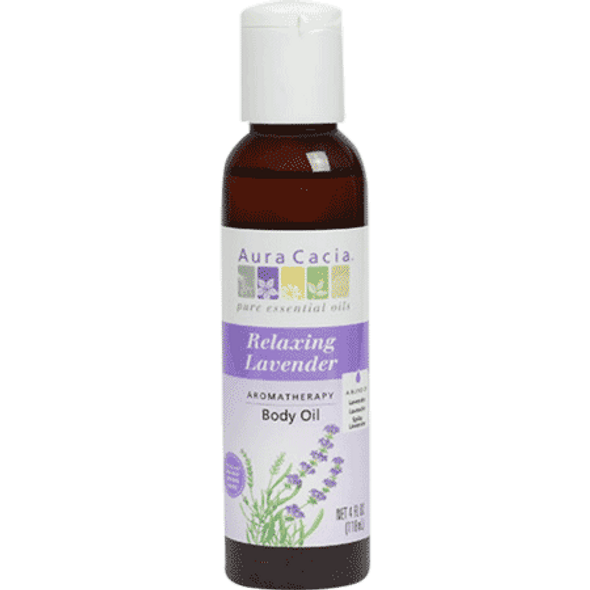 Aura Cacia Lavender Bath And Massage Oil