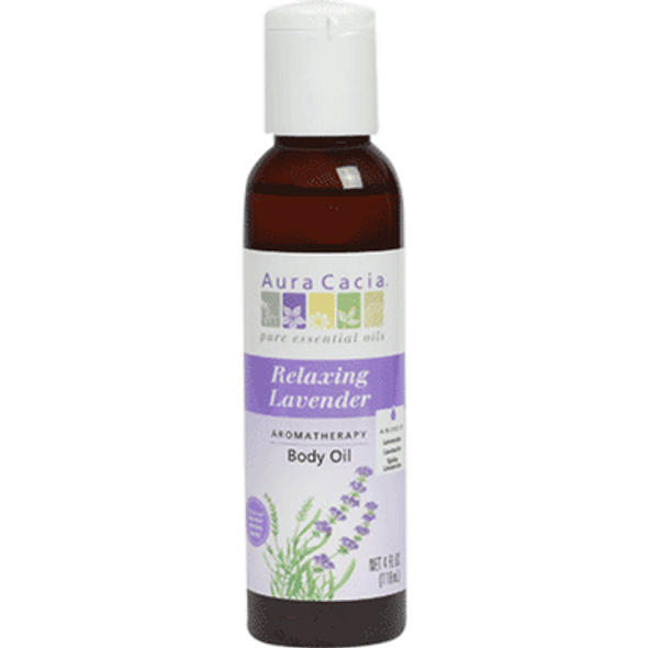 Relaxing Lavender Bath And Massage Oil 4oz