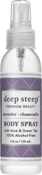 Deep Steep Lavender Chamomile Body Spray