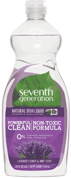 Lavender Scent Dishwashing Liquid