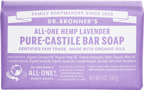 Dr. Bronner's Lavender Soap Bar