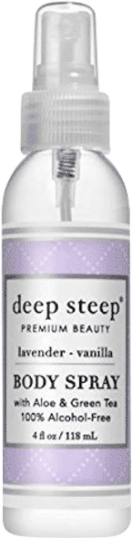 Deep Steep Lavender Vanilla Body Spray
