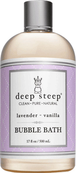 Deep Steep Lavender Vanilla Bubble Bath