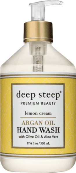 Lemon Cream Argan Oil Liquid Hand Wash