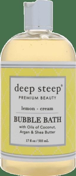 Deep Steep Lemon Cream Bubble Bath