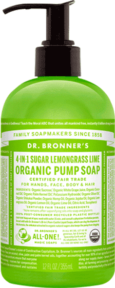 Lemongrass And Lime Liquid Hand Soap
