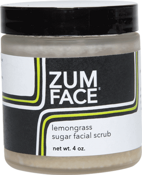 Lemongrass Zum Face Sugar Facial Scrub