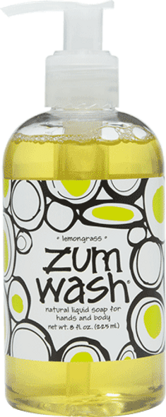 Lemongrass Zum Wash Liquid Soap