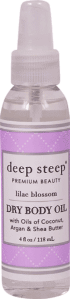 Lilac Blossom Dry Oil Body Spritzer