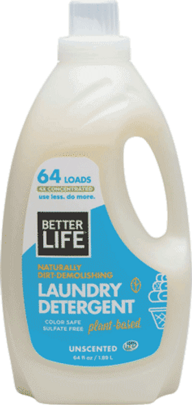 Naturally Dirt-Demolishing Laundry Detergent (Unscented)