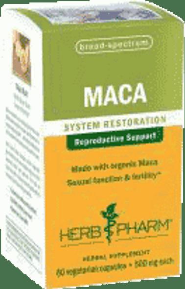 Herb Pharm Maca Capsules - 60 Cap.