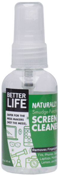 Naturally Smudge-Punching Screen Cleaner