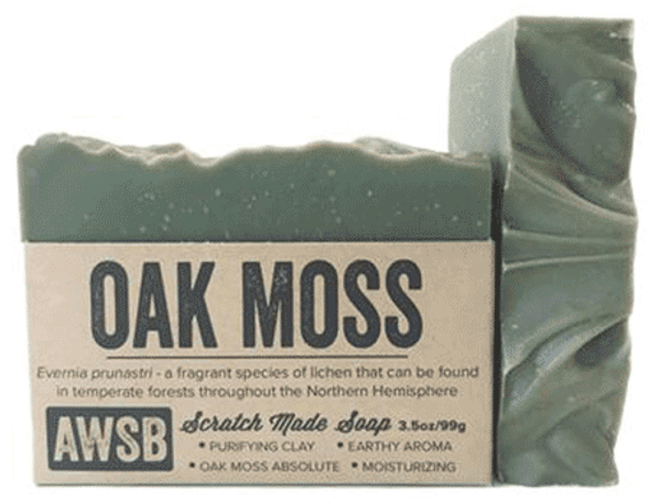 A Wild Soap Bar Oak Moss Organic Soap Bar