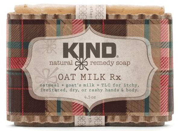 Oat Milk Rx Natural Remedy Bar Soap