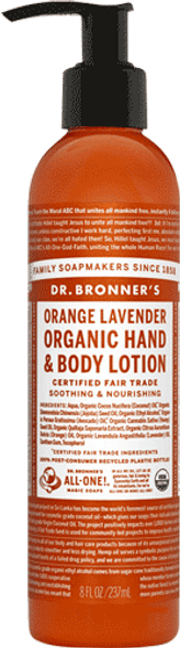Orange And Lavender Body Lotion