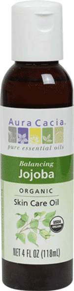 Aura Cacia Organic Jojoba Oil Therapeutic Oil